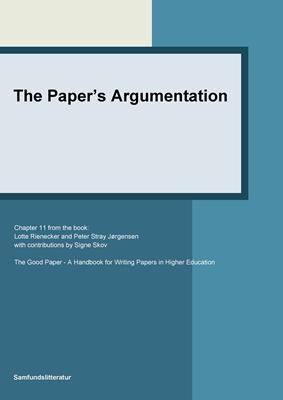 The paper's argumentation Signe Skov, Lotte Rienecker, Peter Stray Jørgensen 9788759322000