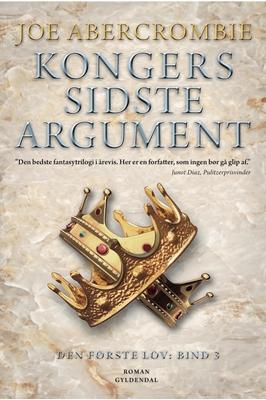 Kongers sidste argument Joe Abercrombie 9788702194333
