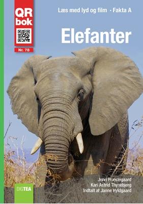 Elefanter - Læs, lyt og se Kari Astrid Thynebjerg, John Præstegaard 9788793018983