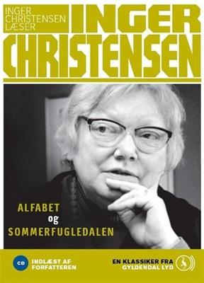 alfabet og Sommerfugledalen Inger Christensen 9788702080476