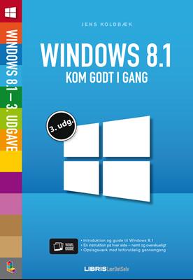 Windows 8.1, 3. udgave Jens Koldbæk 9788778536082