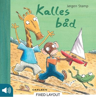 Kalles båd Jørgen Stamp 9788711326336