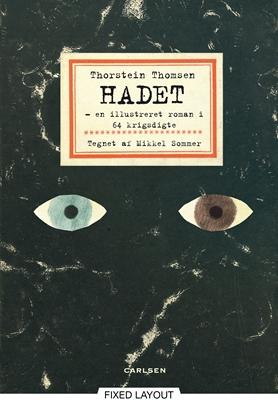 HADET – en illustreret roman i 64 krigsdigte Thorstein Thomsen 9788711320020