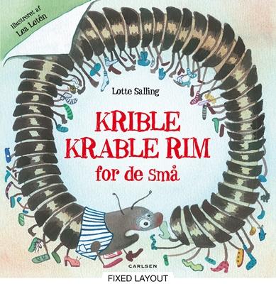Krible Krable - rim for de små Lotte Salling 9788711320181