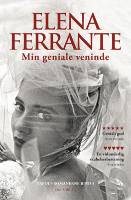 Min geniale veninde Elena Ferrante 9788792884862