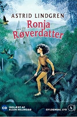 Ronja Røverdatter Astrid Lindgren 9788702073423