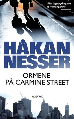 Ormene på Carmine Street Håkan Nesser 9788770536585
