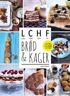 LCHF - brød og kager Jane Faerber 9788740016802