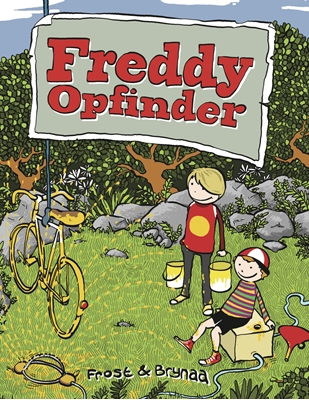 Freddy Opfinder - Højtlæsningsudgave Mikkel Frost 9788799651436