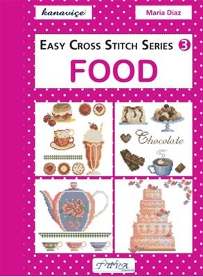 Easy Cross Stitch: Food Maria Diaz 9786055647513
