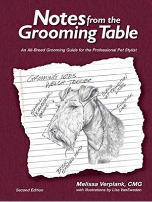 Notes from the Grooming Table Melissa Verplank 9780692658079