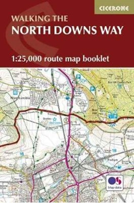 North Downs Way Map Booklet Kev Reynolds 9781852849559