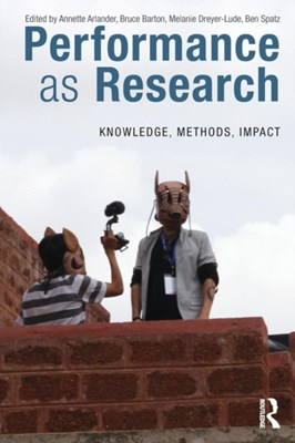 Performance as Research  9781138068711