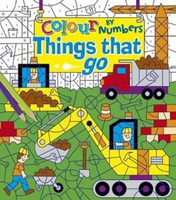 Colour by Numbers: Things That Go Arcturus Publishing 9781784286842
