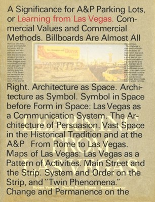 Learning From Las Vegas Steven Izenour, Denise Scott (Architect Brown, Robert (Venturi Venturi 9780262036962