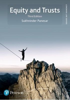 Equity and Trusts Sukhninder Panesar 9781292085791