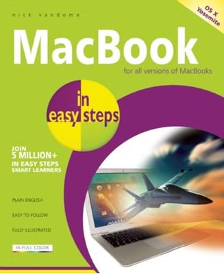 MacBook in easy steps Nick Vandome 9781840786040