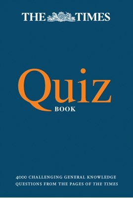The Times Quiz Book The Times Mind Games, Olav Bjortomt 9780008190293