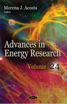 Advances in Energy Research  9781634855150