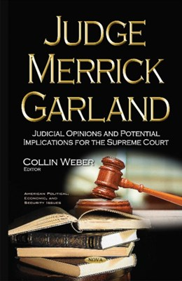 Judge Merrick Garland  9781634859912