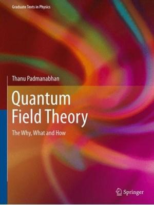 Quantum Field Theory Thanu Padmanabhan 9783319281711