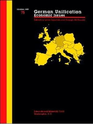 Occasional Paper (International Monetary Fund) No 75); German Unification Leslie Lipschitz 9781557752000
