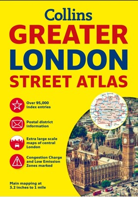 Greater London Street Atlas Collins Maps 9780008112790