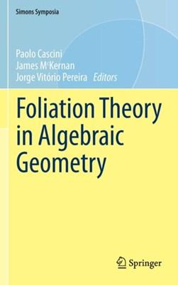Foliation Theory in Algebraic Geometry  9783319244587