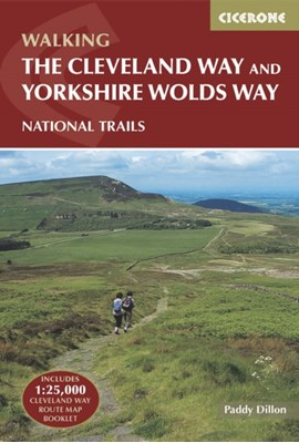 The Cleveland Way and the Yorkshire Wolds Way Paddy Dillon 9781852848231