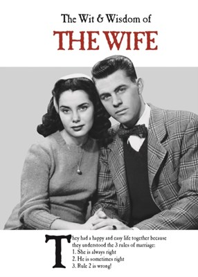 The Wit and Wisdom of the Wife Emotional Rescue 9781787411661
