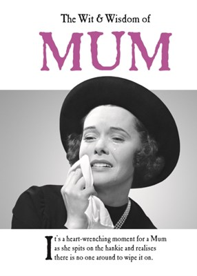 The Wit and Wisdom of Mum Emotional Rescue 9781787411685