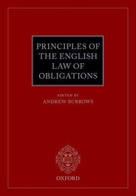 Principles of the English Law of Obligations  9780198746232