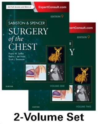 Sabiston and Spencer Surgery of the Chest  9780323241267