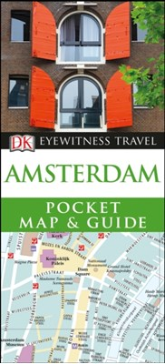 Amsterdam Pocket Map and Guide DK Travel 9780241306598