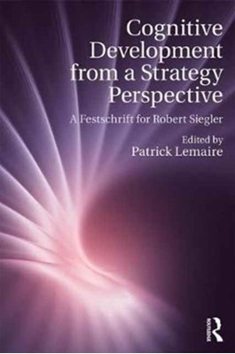 Cognitive Development from a Strategy Perspective  9781138711372
