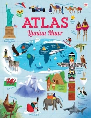 Atlas Lluniau Mawr Emily Bone 9781849673709