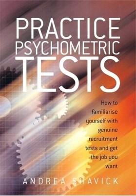 Practice Psychometric Tests Andrea Shavick 9781845280208