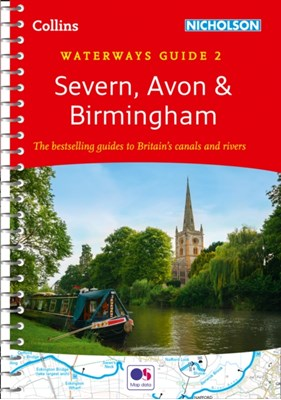 Severn, Avon & Birmingham No. 2 Collins Maps 9780008258016