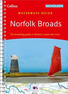 Norfolk Broads Collins Maps 9780008258009