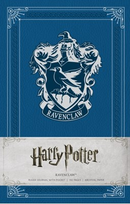 Harry Potter: Ravenclaw Hardcover Ruled Journal Insight Editions 9781608879496