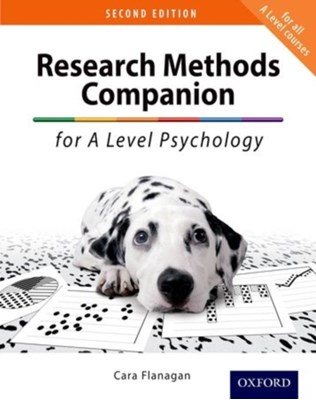 The Research Methods Companion for A Level Psychology Cara Flanagan 9780198356134