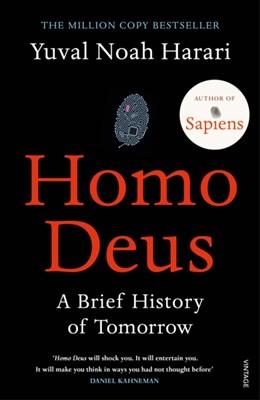 Homo Deus Yuval Noah Harari 9781784703936