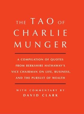 Tao of Charlie Munger David 9781501153341