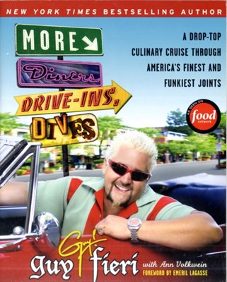 More Diners, Drive-ins and Dives Ann Volkwein, Guy Fieri 9780061894565