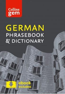 Collins German Phrasebook and Dictionary Gem Edition Collins Dictionaries 9780008135966