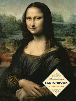 Sketchbook: Mona Lisa by Leonardo Da Vinci Peony Press 9780754832201