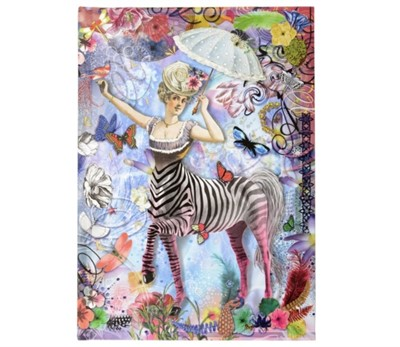Christian Lacroix B5 Zebra Girl Journal Christian Lacroix 9780735350403