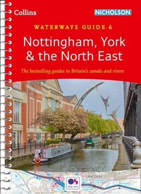 Nottingham, York & the North East Collins Maps 9780008202033