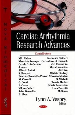 Cardiac Arrythmia Research Advances Marcelo Samuel Berman 9781600217944