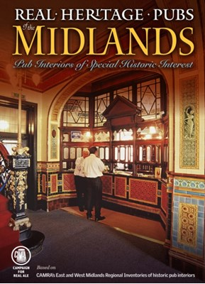 Real Heritage Pubs of the Midlands Paul Ainsworth 9781852493240